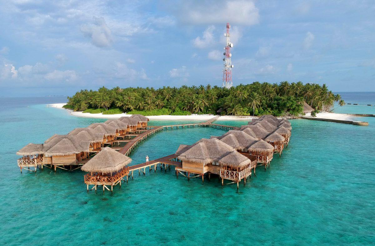 Chambres pilotis Fihalhohi Island Resort Maldives