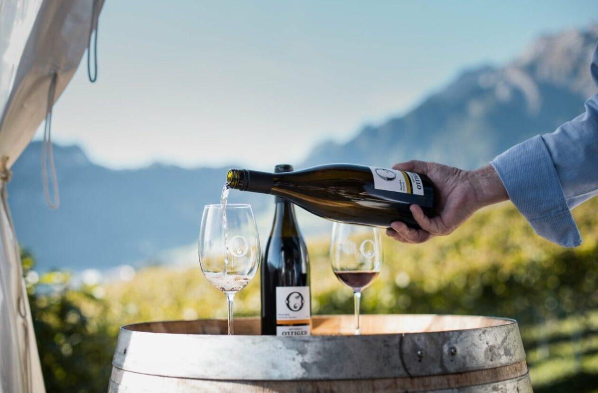 Dégustation de vin chez Ottiger