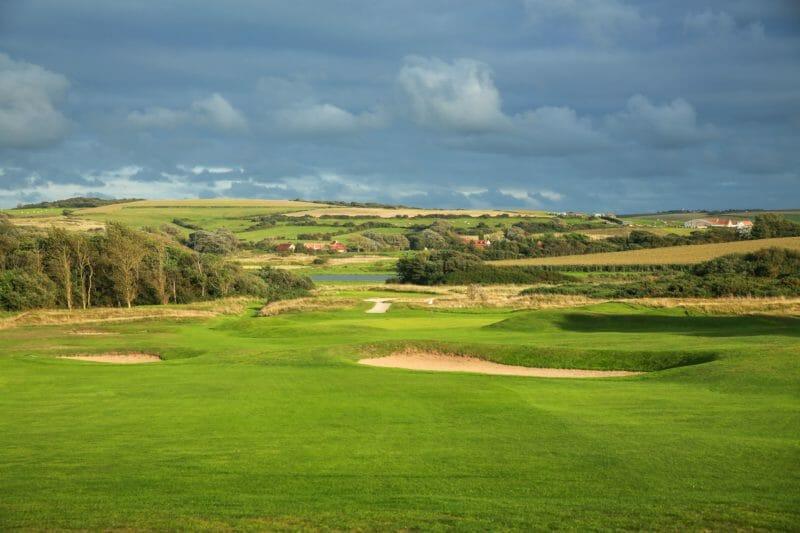 Parcours de golf à Wimereux au Touquet