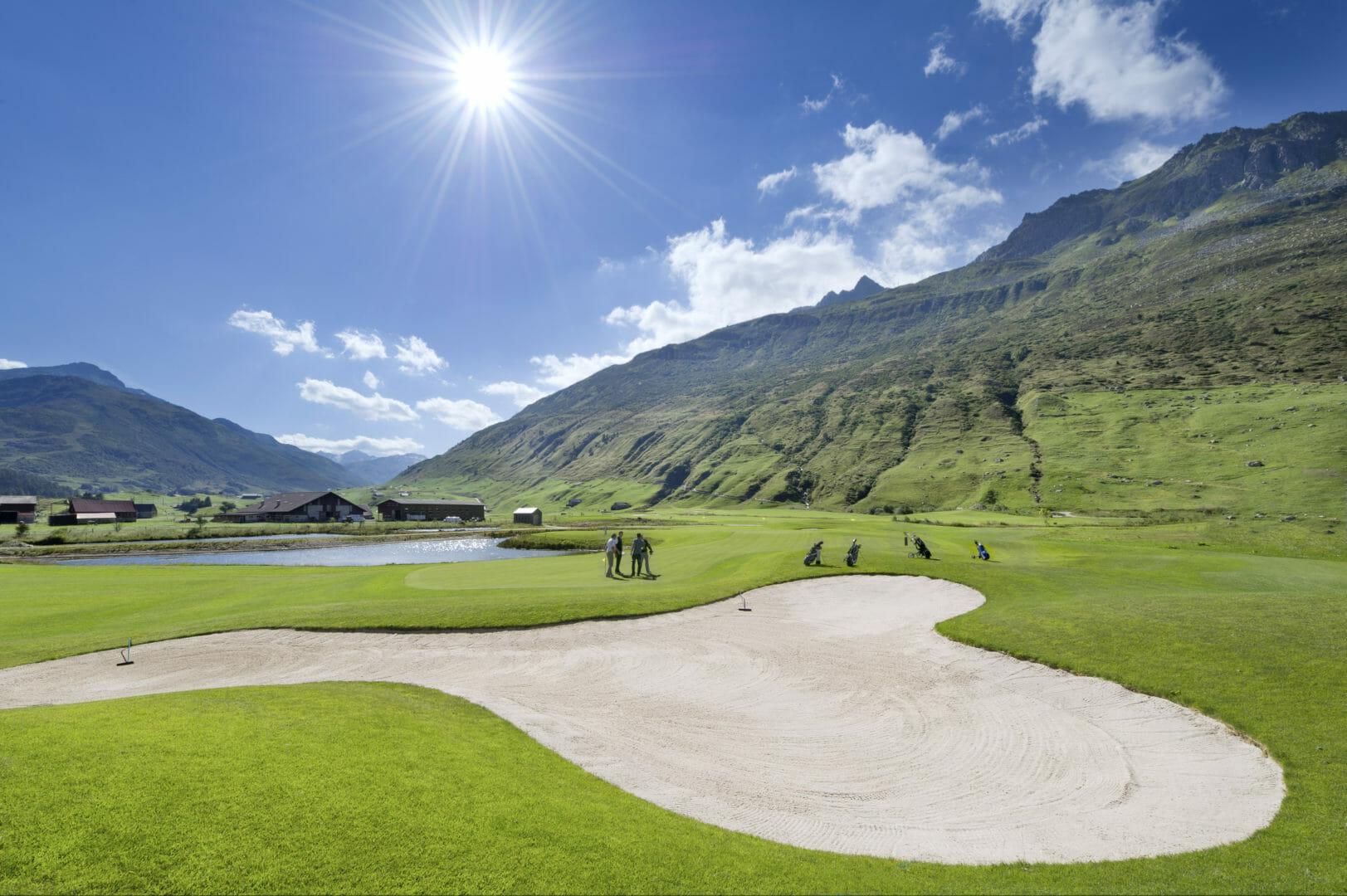 Voyage golfique à Andermatt en Suisse