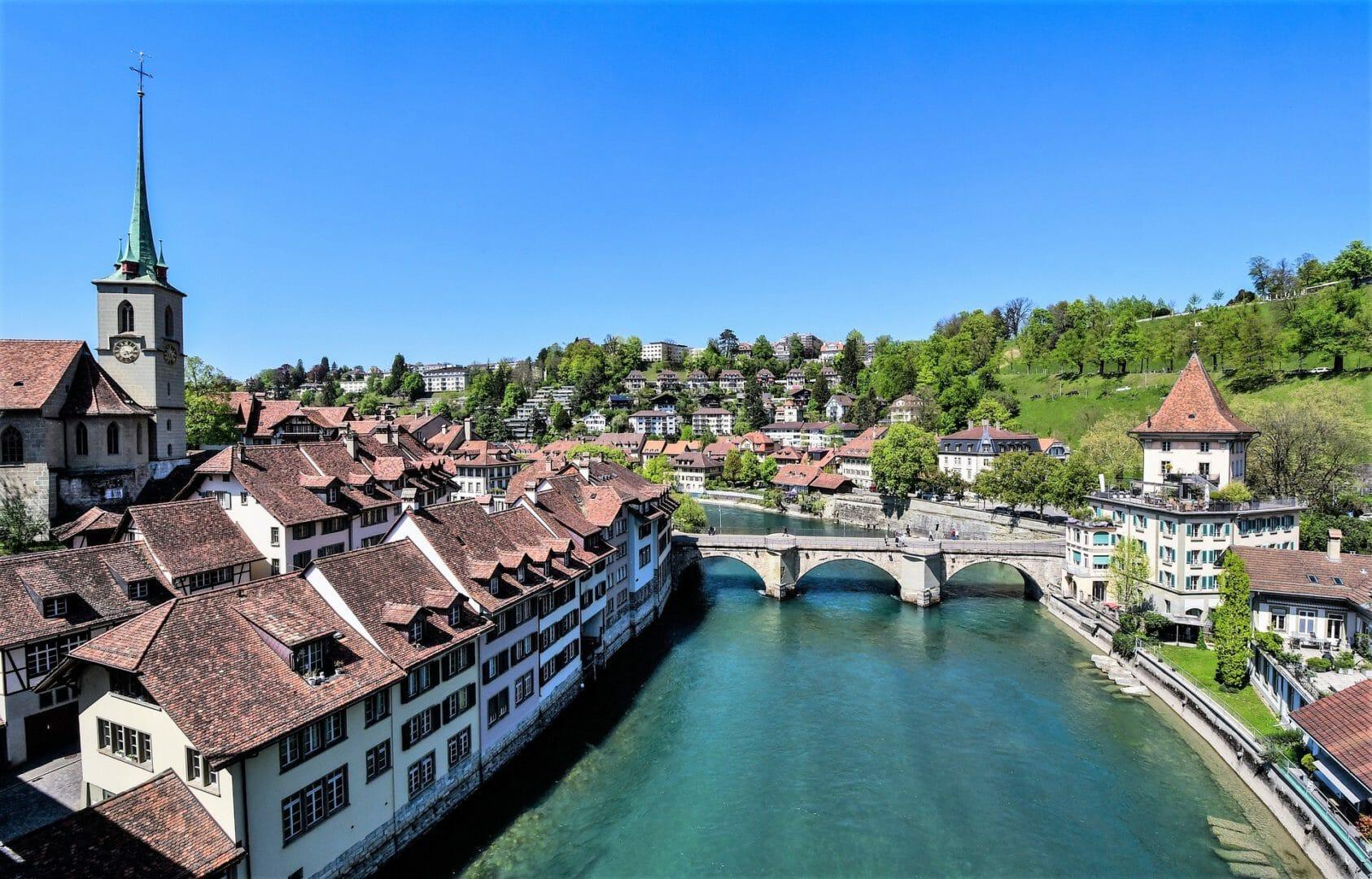 Vieille ville de Berne à l'UNESCO Suisse