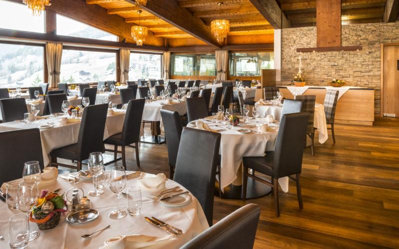 Hôtel la Perla dans les Dolomites