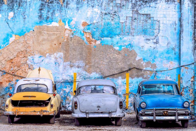 Voiture des années 50 à La Havane