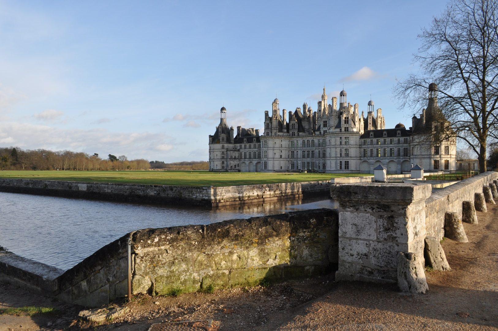 Cyclotourisme vallée de la Loire France Chambord