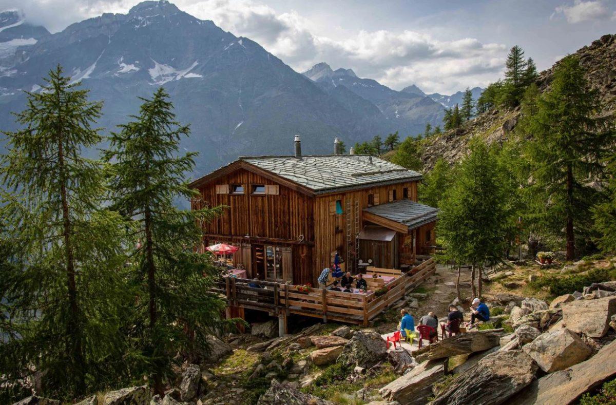 Auberge randonnée autour de Zermatt