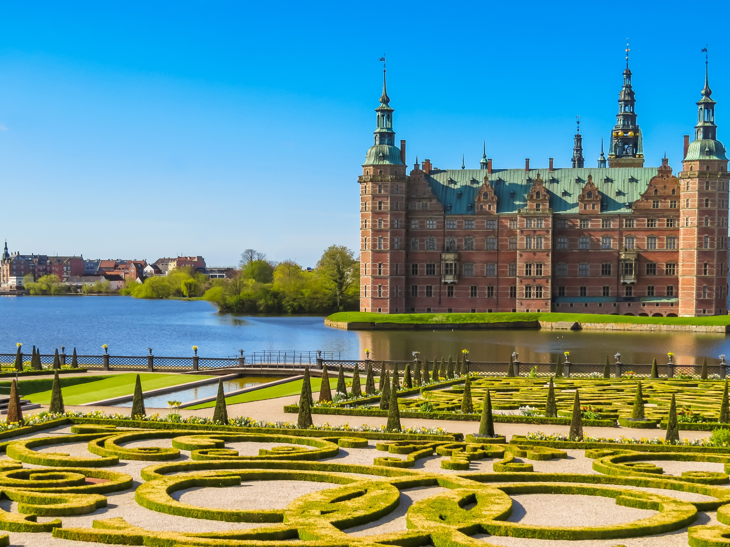Visiter le château Frederiksborg à Copenhague