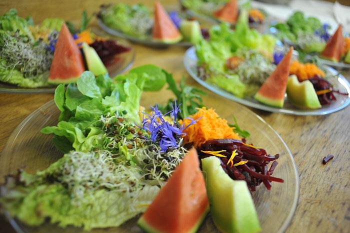 Séjour bien-être et repas bio à l'Hôtel Balance en Valais