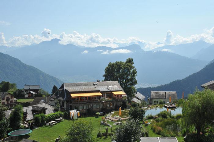 Retraite de yoga à l'Hôtel Balance en Valais