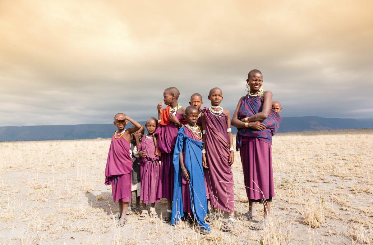 Peuple Massaï en Tanzanie