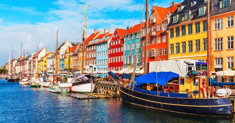 Voyage en groupe à Copenhague, visite de Nyhavn