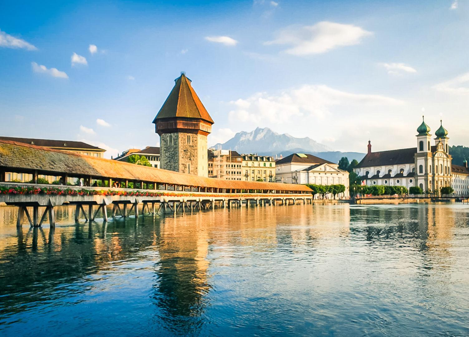 Pont de Lucerne_Suisse centrale