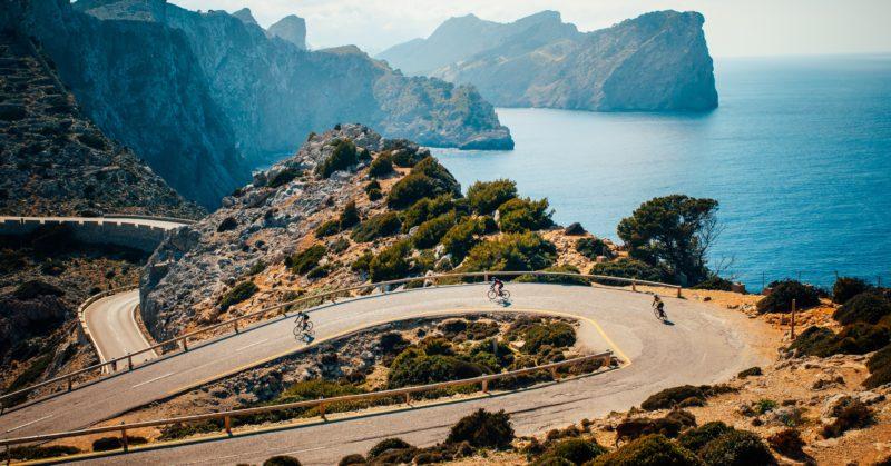 Faire du vélo au Cap de Formentor à Majorque