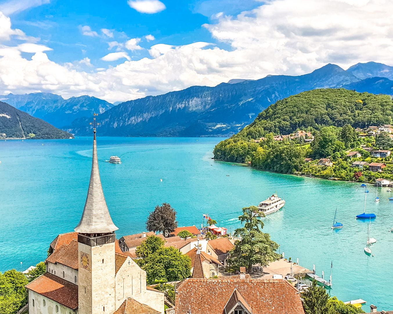 Visiter Spiez et son château_Suisse centrale