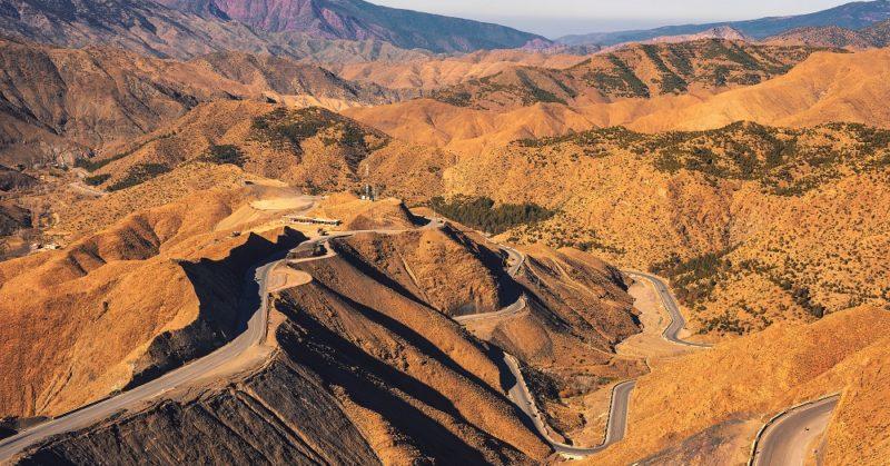 Col de Tizi n'Tichka Maroc