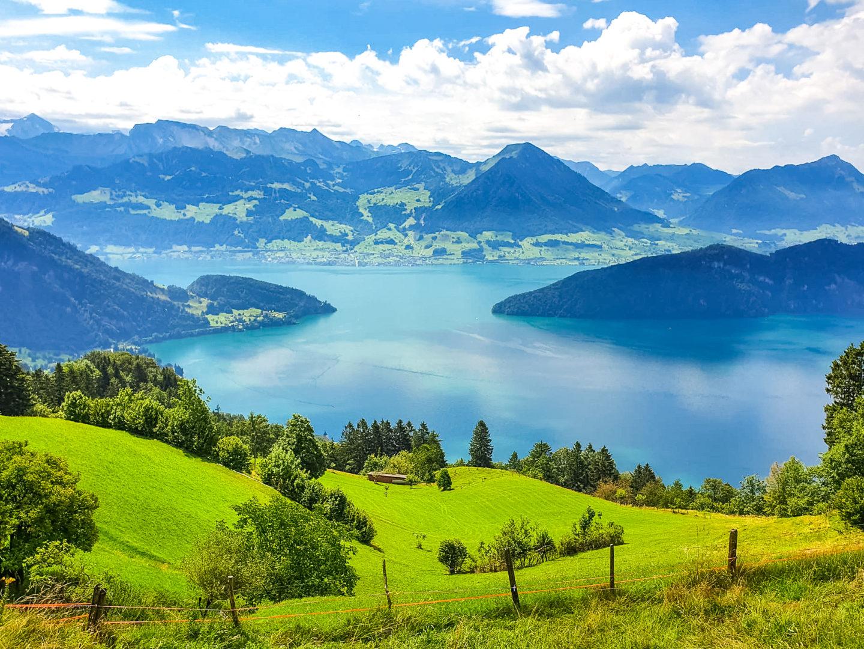 Vue du Rigi Kulm_Suisse centrale