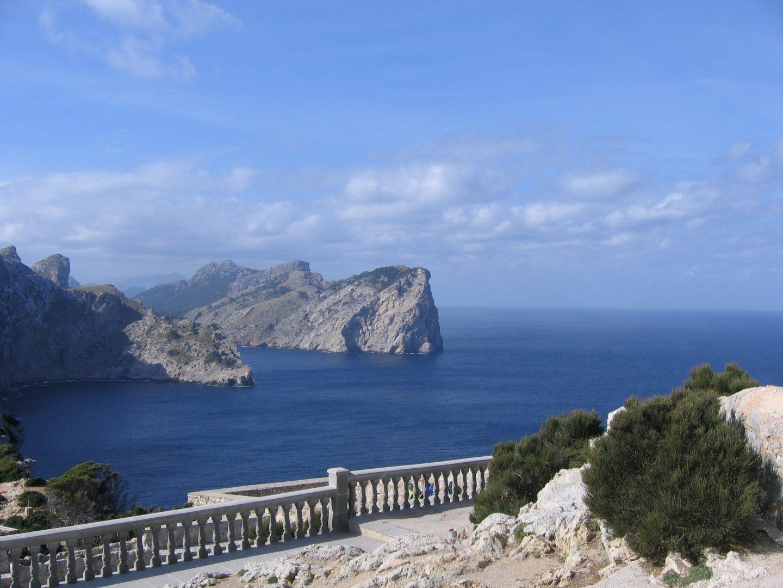Cap de Formentor à voir en vacances à Majorque