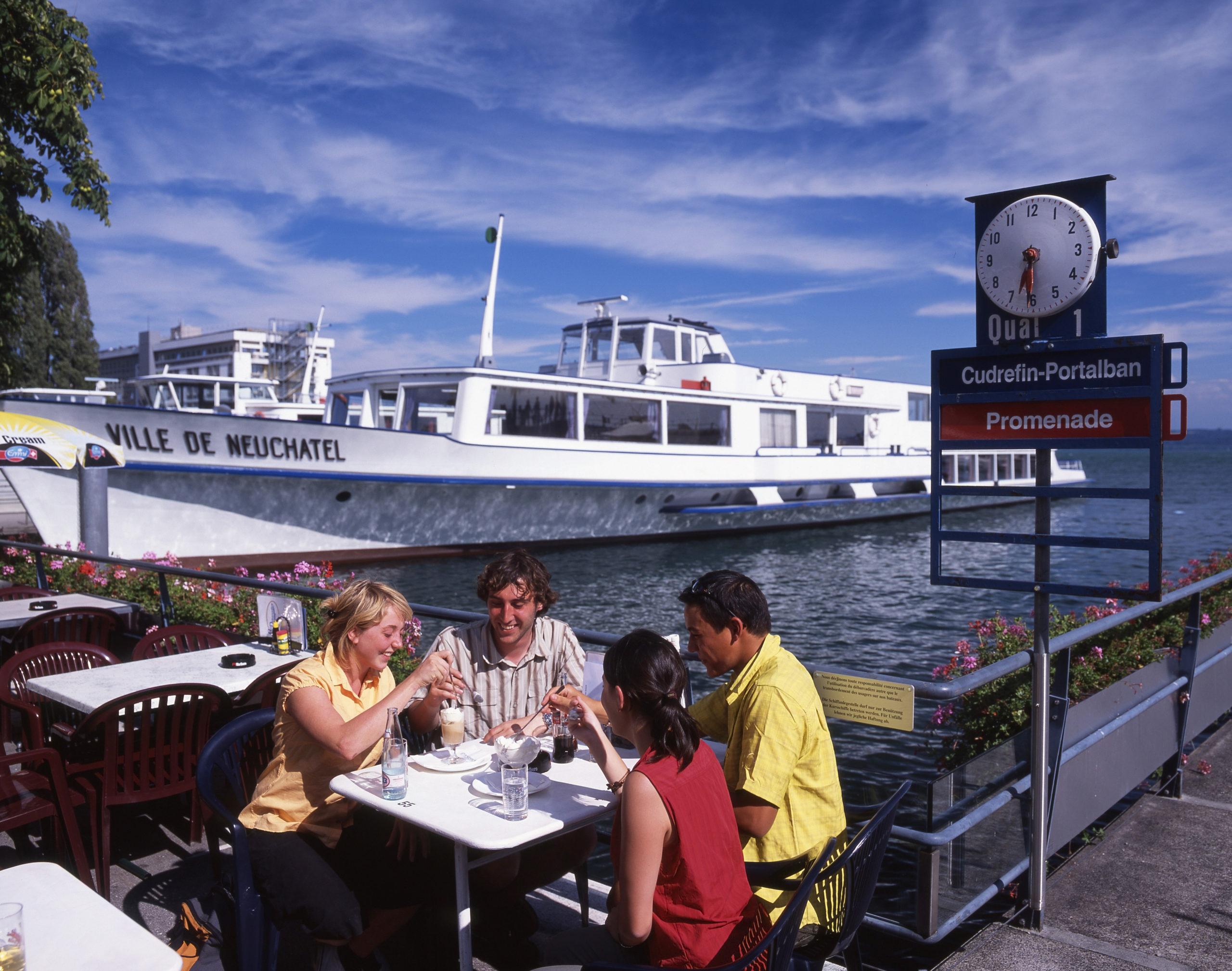 Croisière sur le lac de Neuchâtel