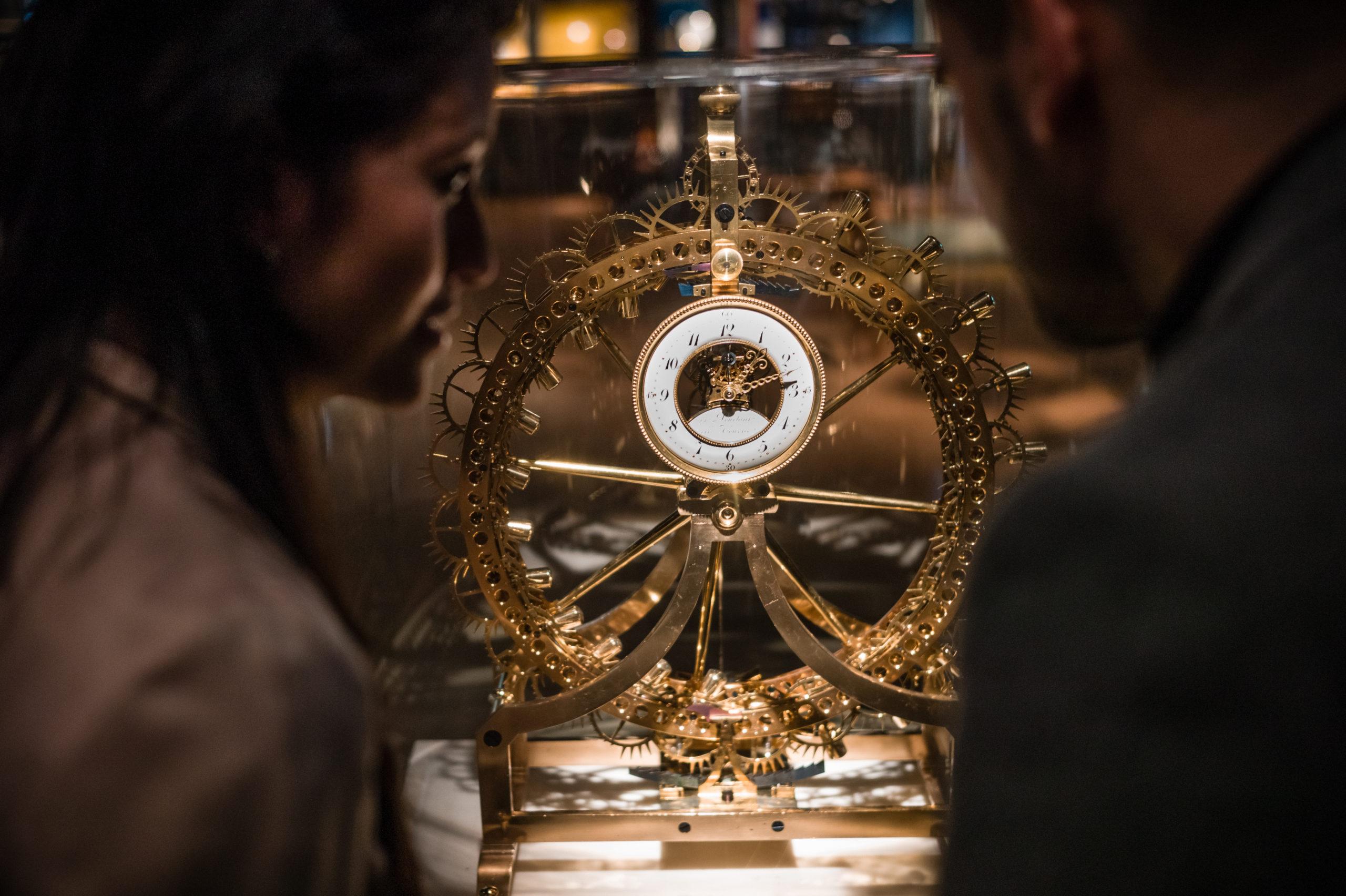 Visite du Musée international de l'Horlogerie