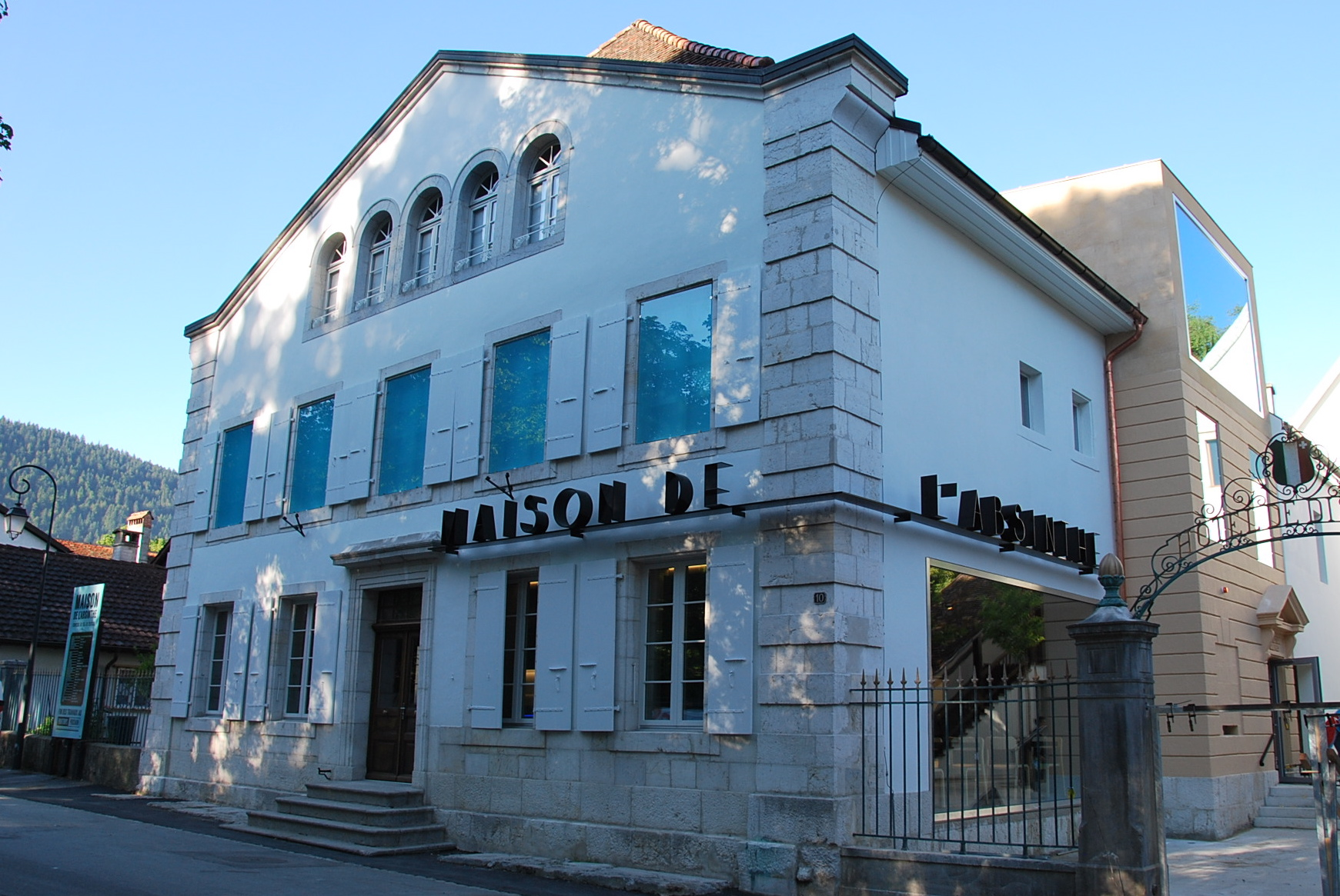Visiter la Maison de l'Absinthe à Môtiers