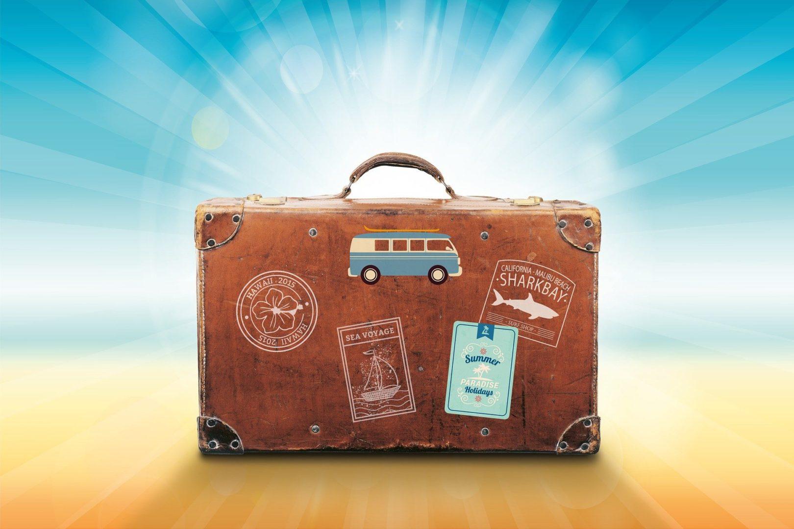 Voyage simplement avec un minimum de bagages