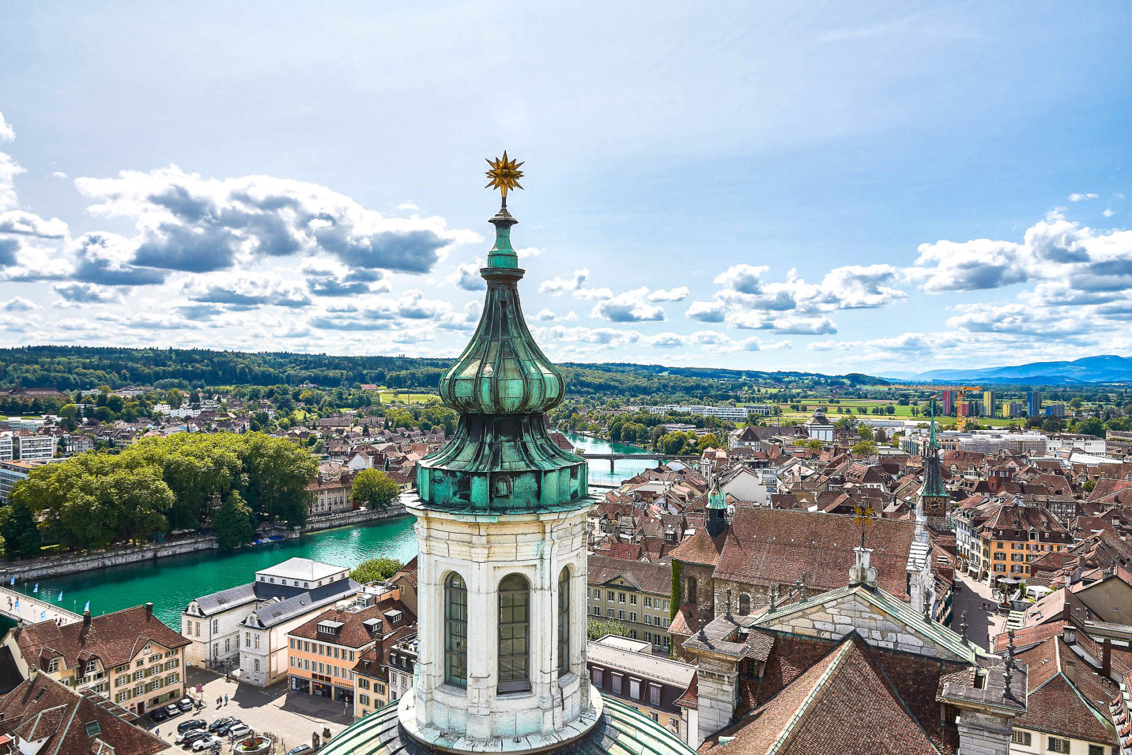 Soleure dans les 10 plus belles villes de Suisse