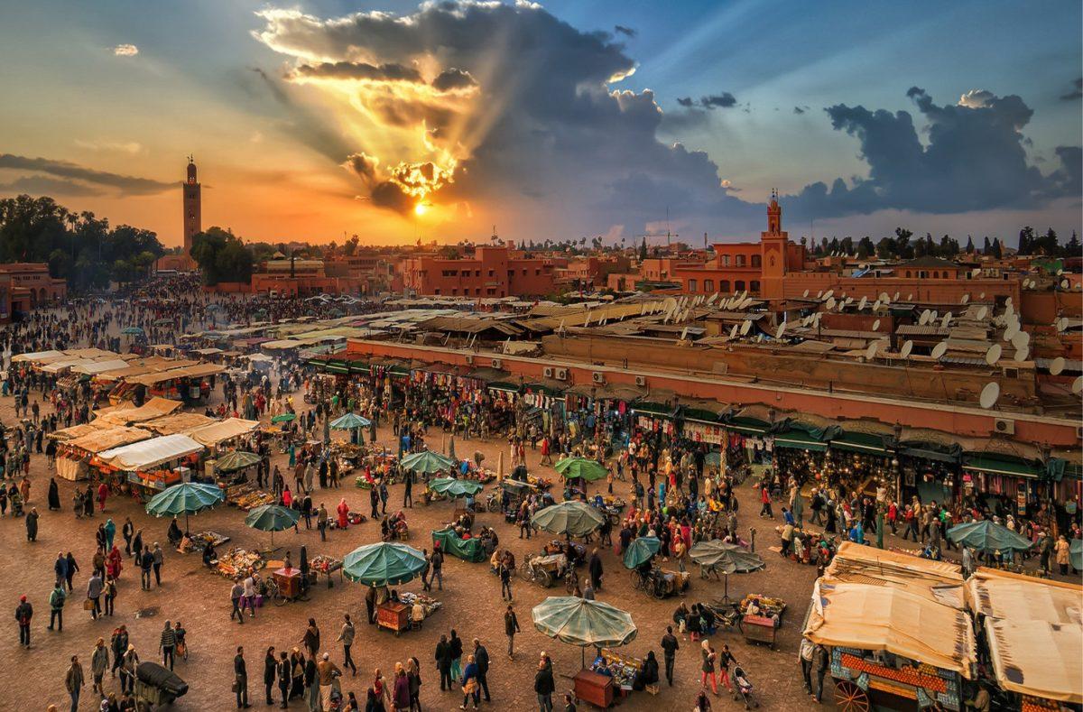 Place Jemaa el-Fna Maroc