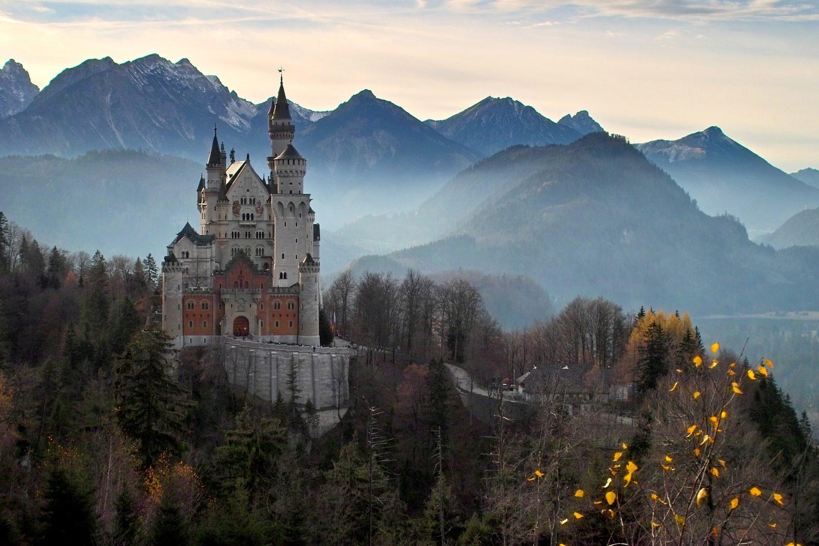 Château de Neuschwanstein à visiter en Allemagne en Bavière