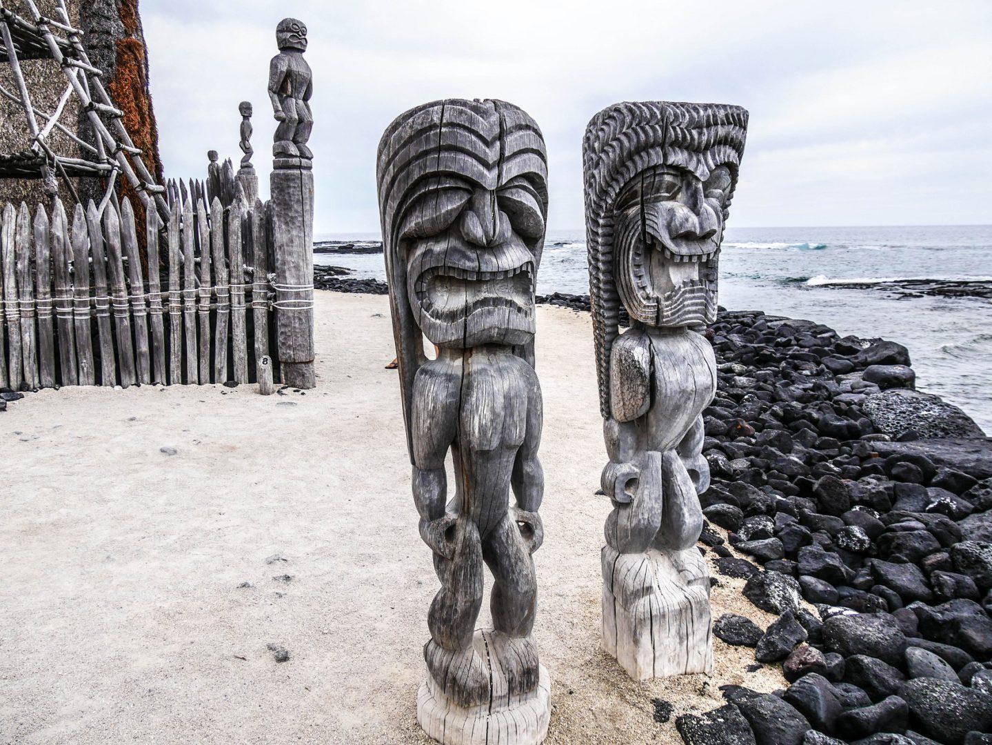 parc historique national de Pu'uhonna o Honaunau Hawaii destination historique