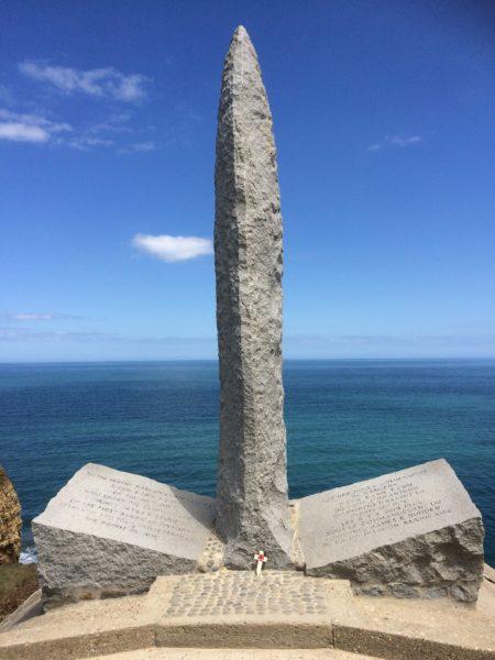 Pointe du Hoc Plages du Débarquement Normandie destination historique
