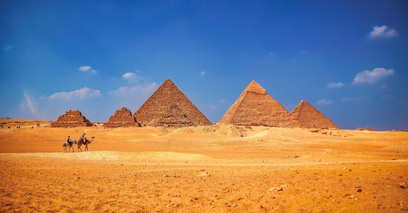 Pyramides Gizeh Egypte destination historique