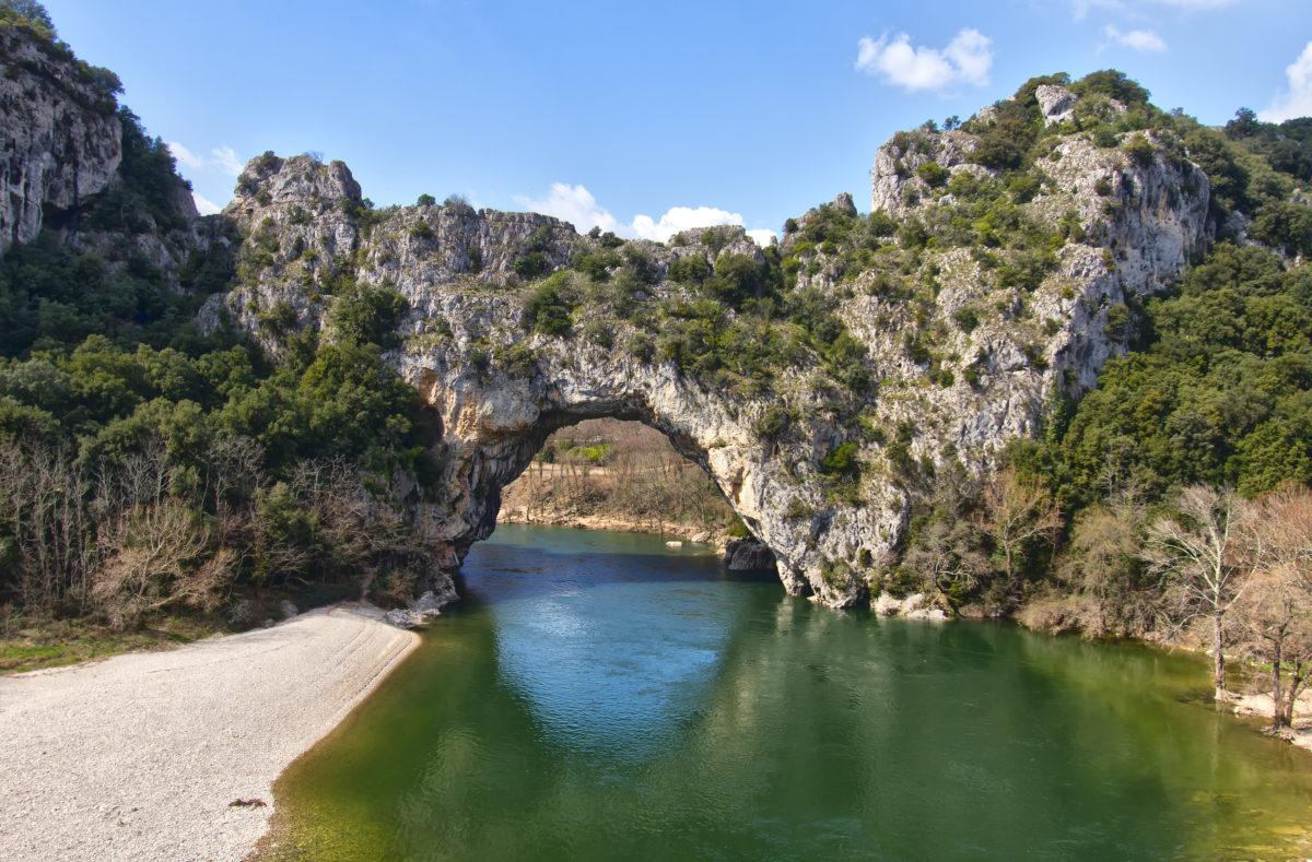 Vallon Pont d'Arc, un arc naturel de l'Ardèche