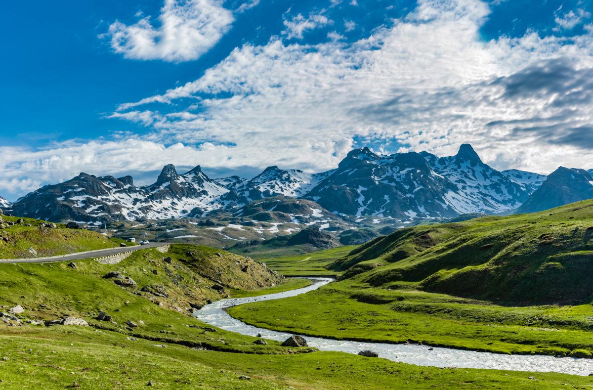 Col du Pourtalet dans les Pyrénées