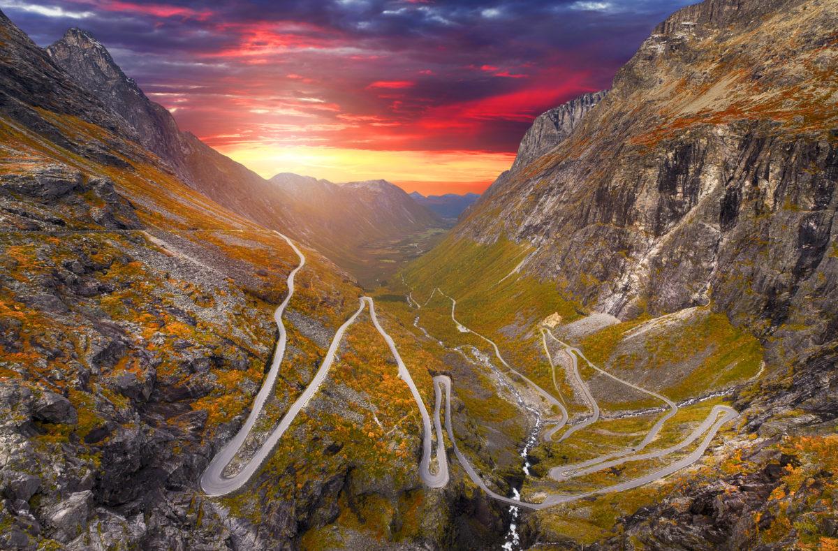 Route Trollstigen, Norvège