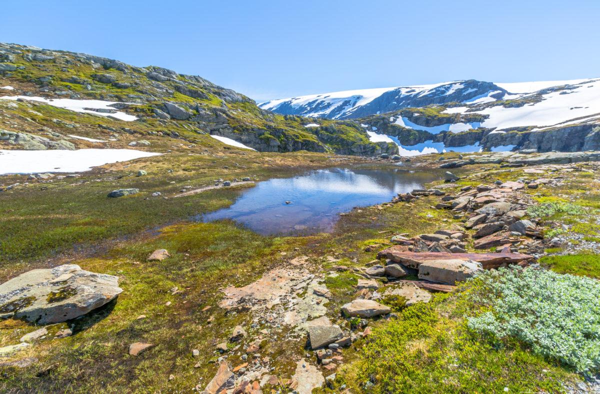 Sirdal to Kjerag, Norvège