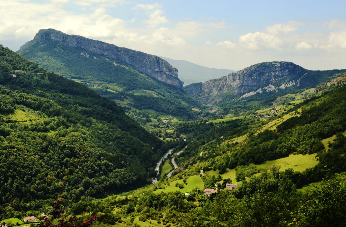 Massif du Vercors road trip à moto France