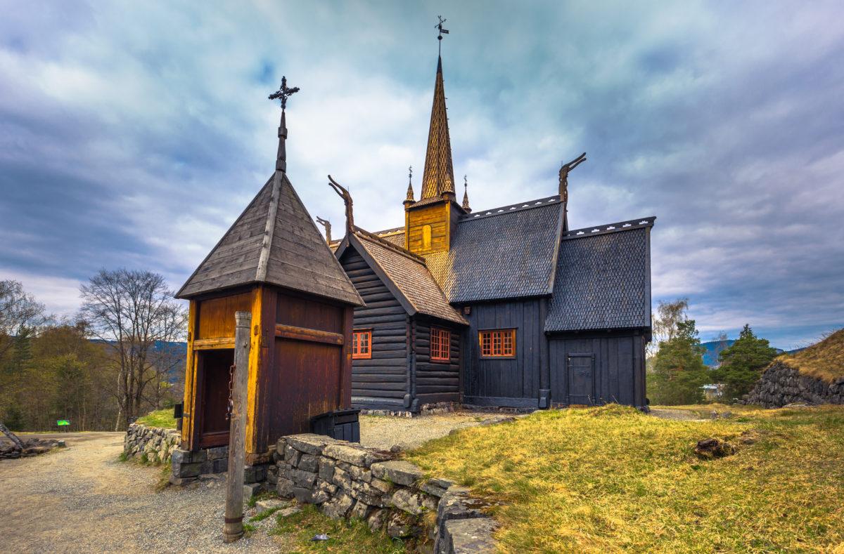 Église Garmo Stave de Lillehammer, Norvège