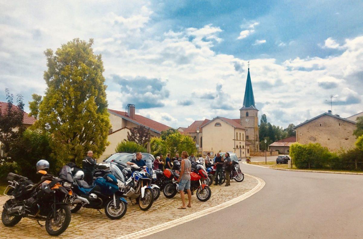 Road trip à moto dans l'Est de la France