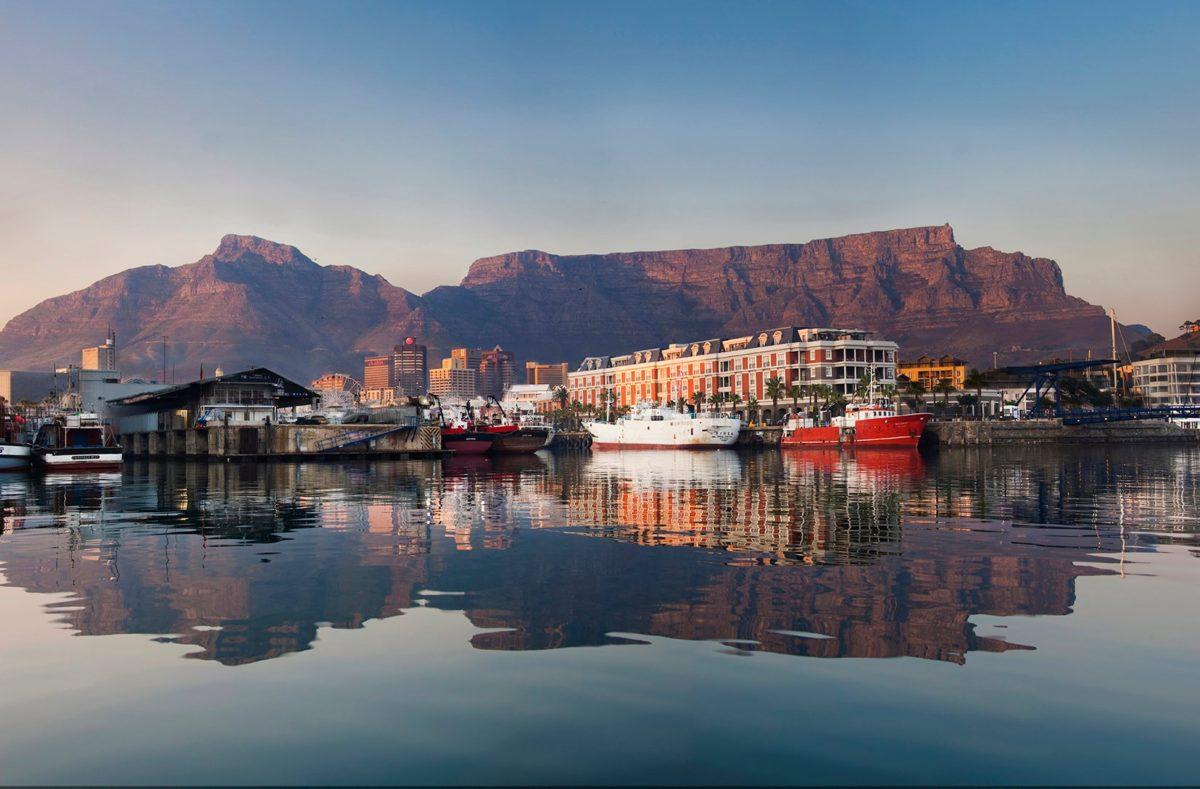 Cape Town waterfront, Afrique du Sud