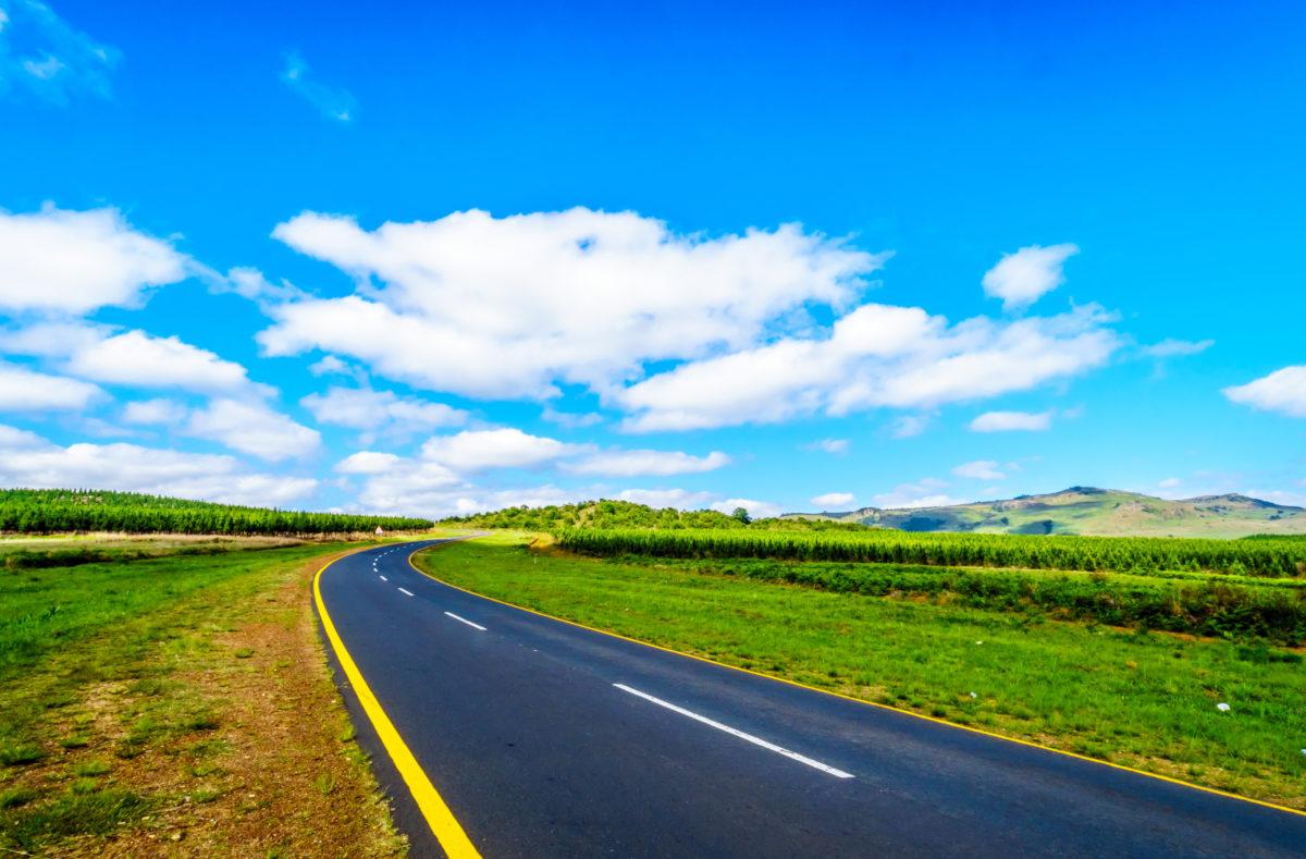 La route panoramique R538, province de Mpumalanga en Afrique du Sud