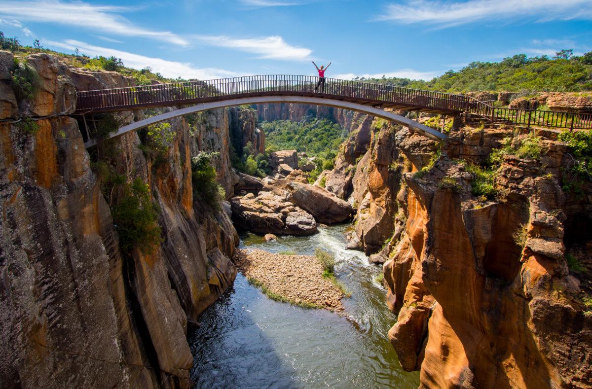 Bourke's Luck Potholes, road trip Afrique du Sud