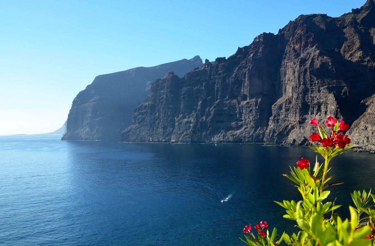 les falaises de Los Gigantes à Tenerife