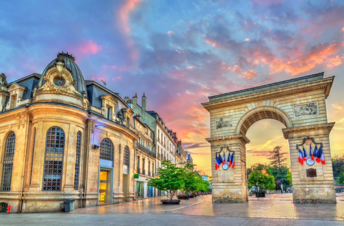 Porte Guillaume Place Darcy Dijon France