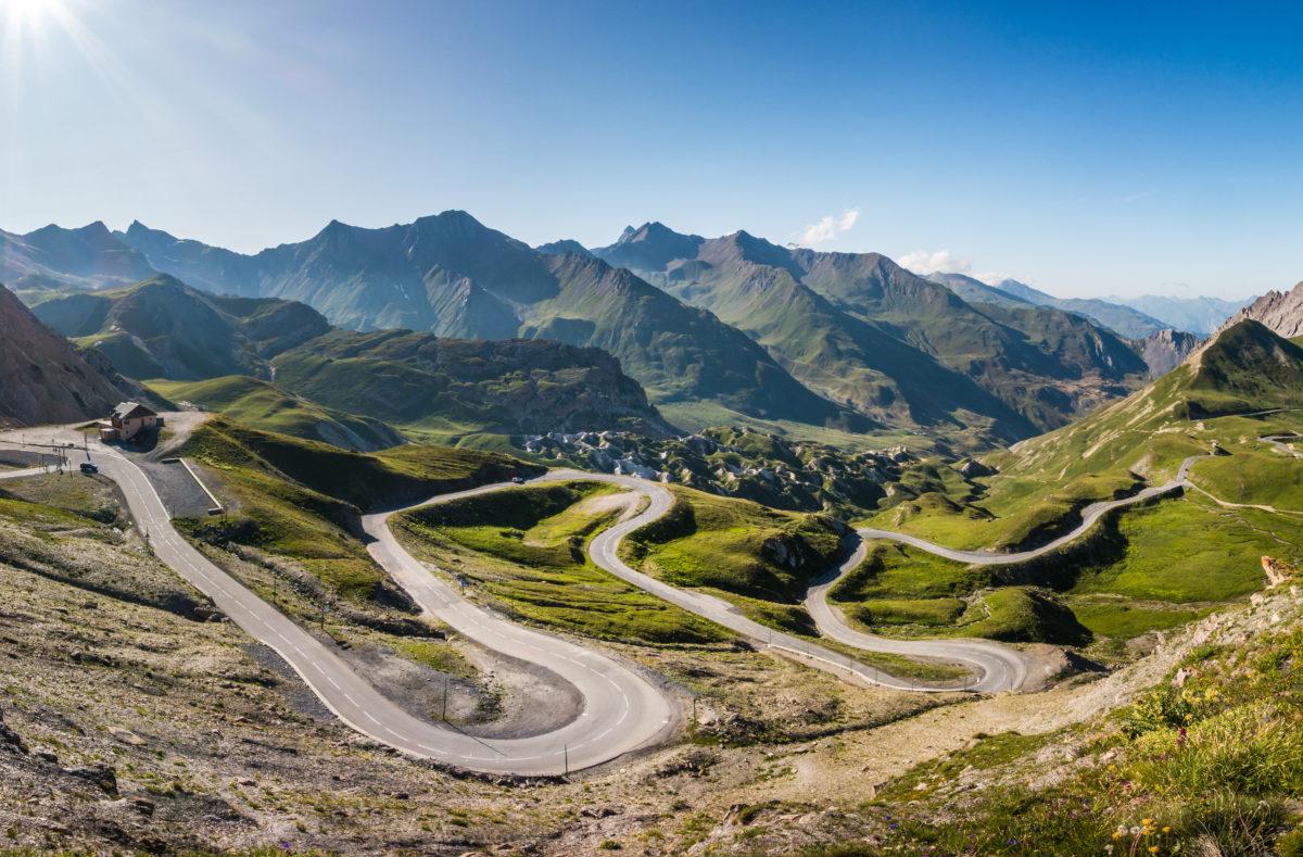 Col d'Izoard, Alpes françaises, département des Hautes-Alpes