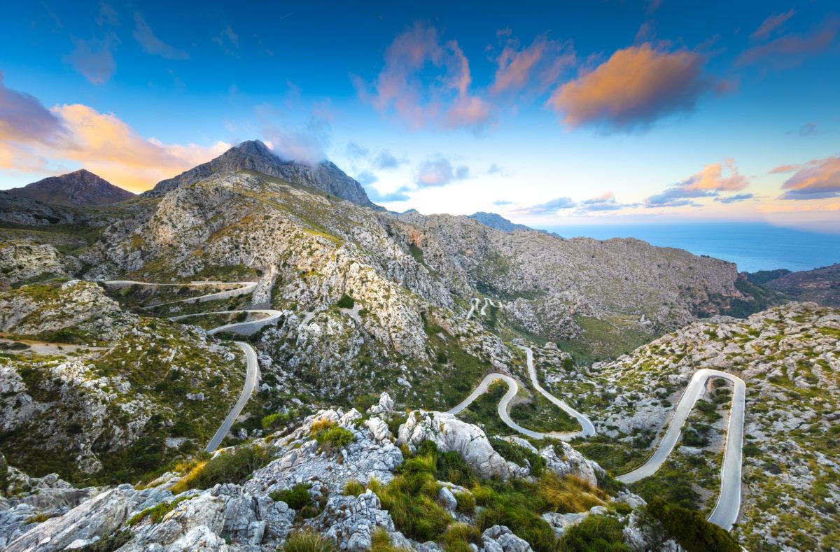 Route Sa Calobra à Majorque