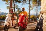 Road trip en Scooter en Toscane