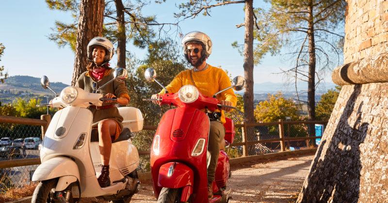 Circuit scooter en Toscane
