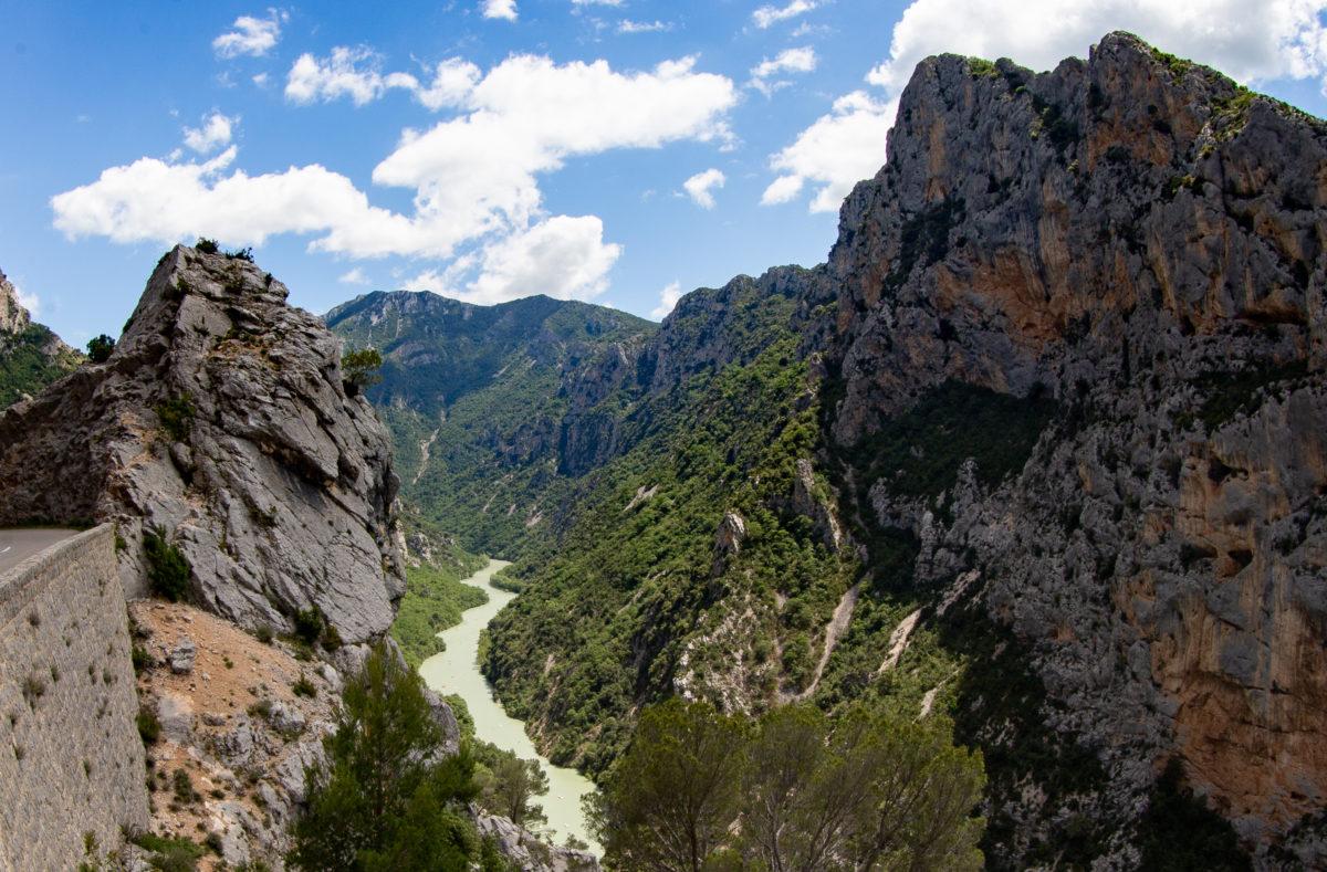 Vue sur les Gorges du Verdon Provence France