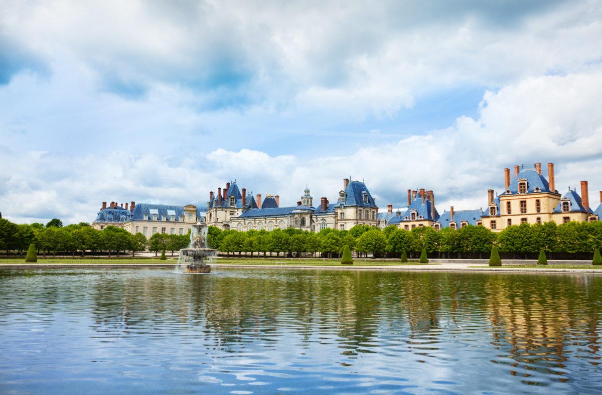 Palais royal Fontainebleau France