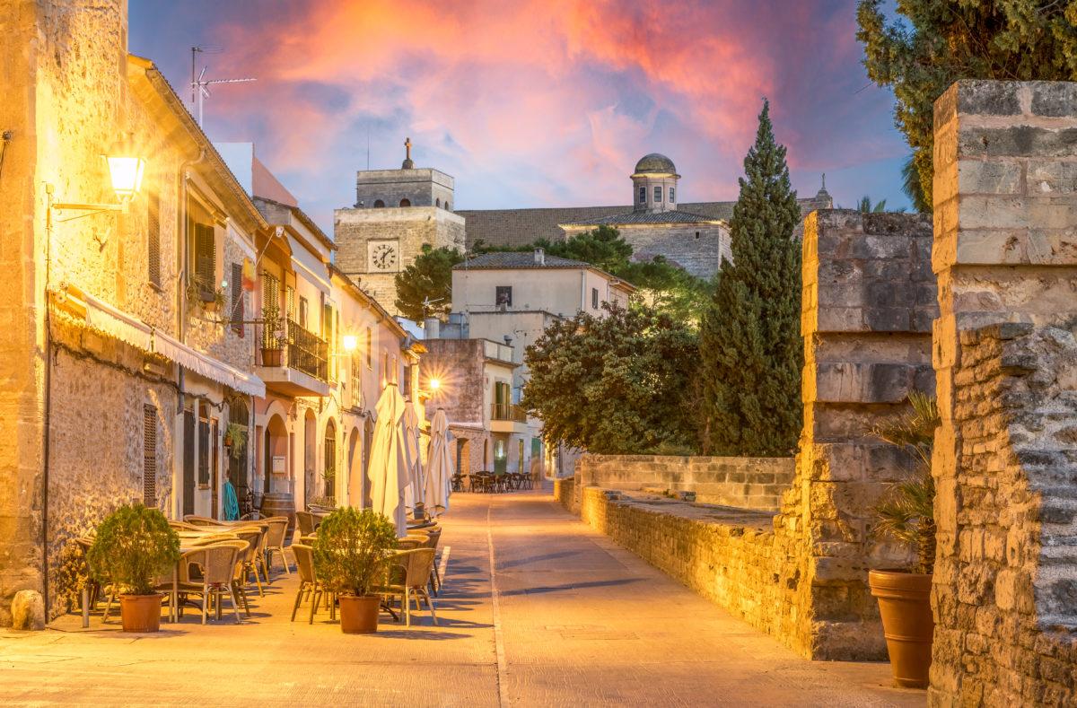 vieille ville d'Alcudia Majorque
