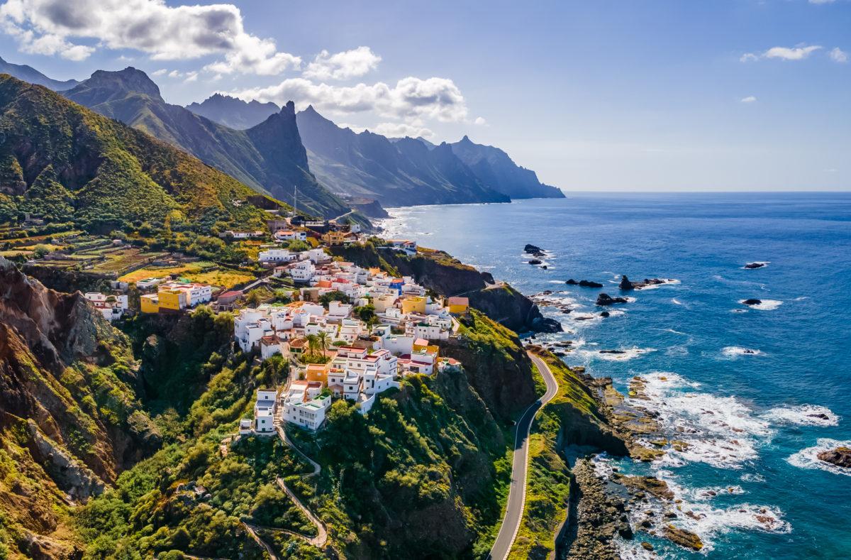 Anaga village côtier à Tenerife